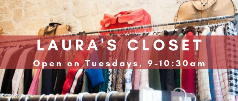 Todos los que necesiten ropa son bienvenidos los martes